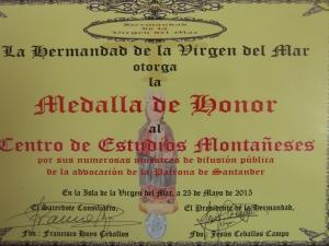 Medalla Honor Virgen del Mar (25-5-15) 8